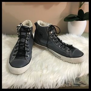 Converse All Star Leather High Tops